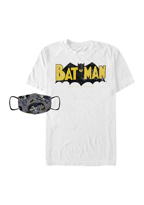 Batman™ Batman Comic Combo Graphic T-Shirt and Mask