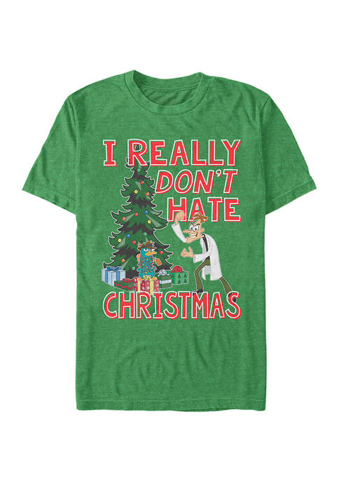 Disney® Phineas and Ferb Doof Christmas Graphic T-Shirt