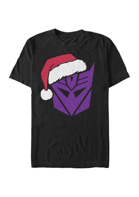 Fifth Sun™ Transformers Decepticons Santa Graphic T-Shirt