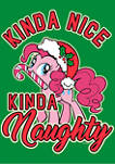 My Little Pony Pinky Pie Naughty Graphic T-Shirt