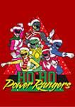 Power Rangers Santa Rangers Graphic T-Shirt