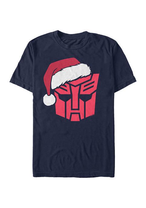 Transformers Autobots Santa Graphic T-Shirt