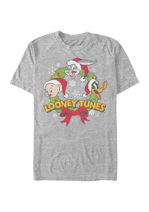 Looney Tunes™ Looney Tunes Looney Wreath Graphic T-Shirt