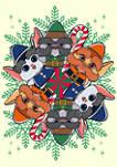 Christmas Chronicles Elf Circle Graphic T-Shirt