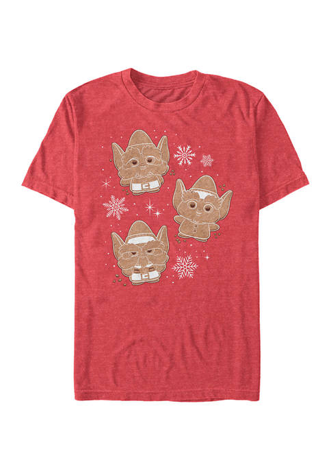 Christmas Chronicles Elf Cookies Graphic T-Shirt