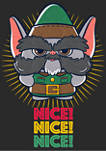 Christmas Chronicles Nice Elf Graphic T-Shirt