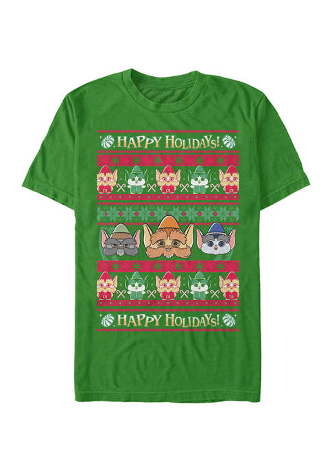 Fifth Sun™ Christmas Chronicles Elf Ugly Sweater Graphic
