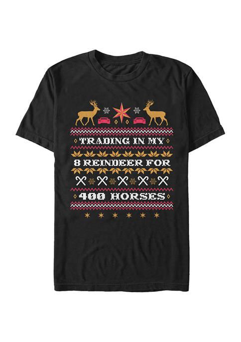 Christmas Chronicles Horsepower Sweater Graphic T-Shirt