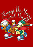 Garfield Merry and Bright Graphic T-Shirt