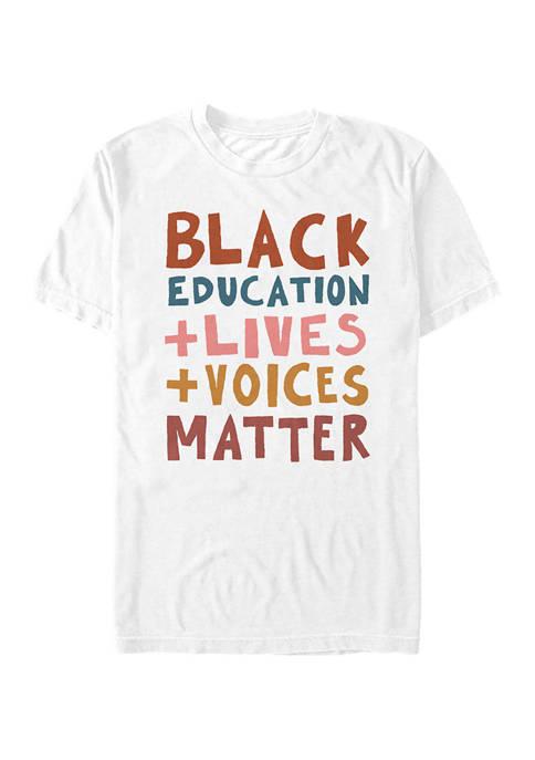 Fifth Sun™ Black Lives Short Sleeve Graphic T-Shirt