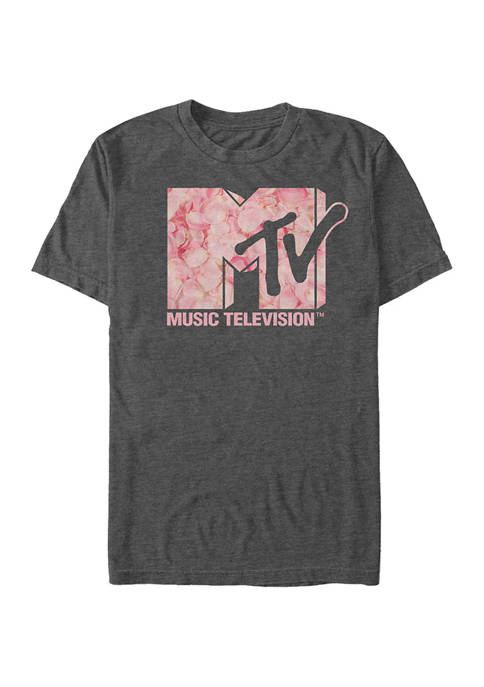 MTV Roses Are Pink Graphic T-Shirt