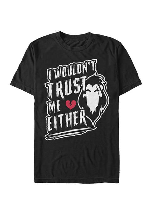 Disney® Villains Never Trust Scar Graphic T-Shirt