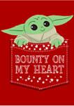 The Mandalorian Bounty On My Heart Graphic T-Shirt