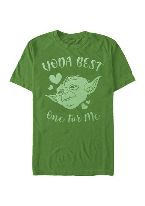 Yoda Best Hearts Graphic T-Shirt
