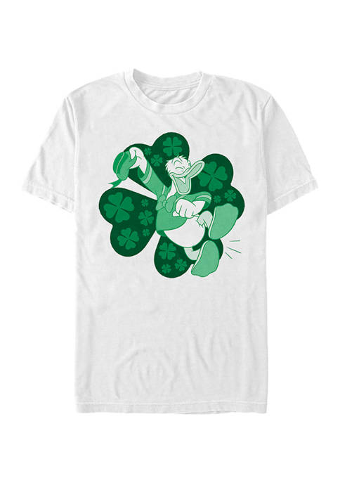 Mickey Classic Lucky Duck Donald Graphic T-Shirt