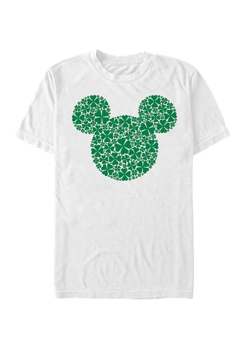 Classic Mickey Clover Fill Graphic T-Shirt