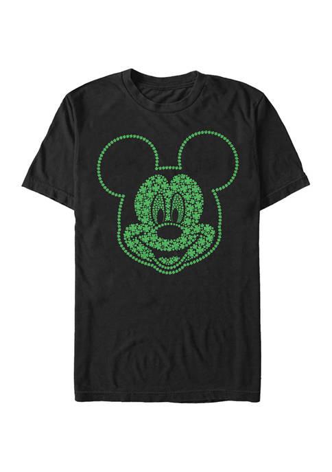 Disney® Classic Mickey Shamrocks Graphic T-Shirt