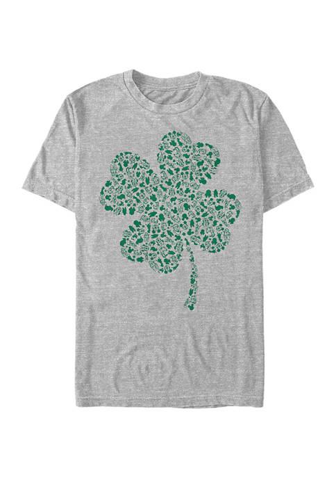 Disney® Mickey Classic Shamrock Fill Graphic T-Shirt