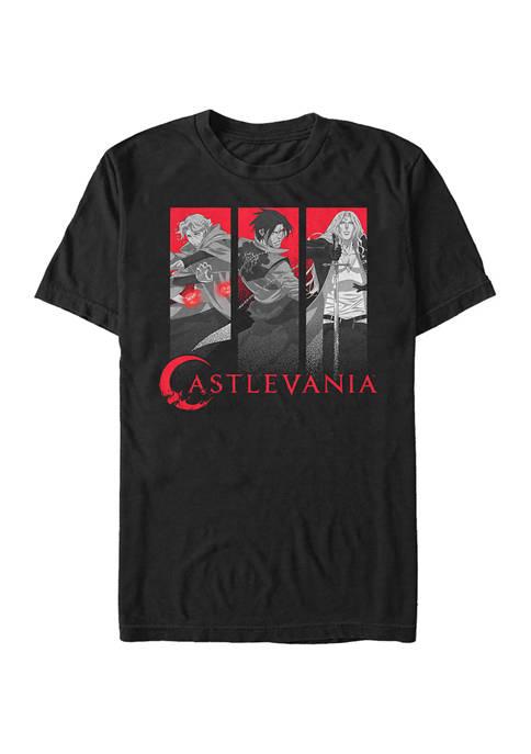 Castlevania Trio Box Up Graphic T-Shirt