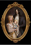 Castlevania Family Portrait Graphic T-Shirt