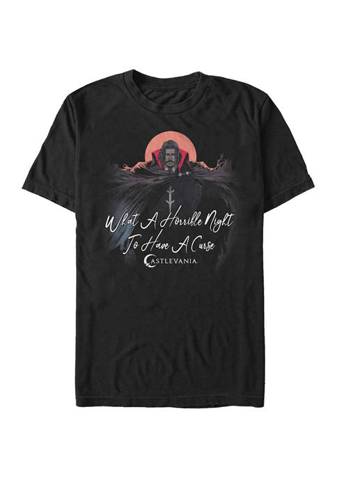 Castlevania Horrible Night To Have A Curse T-Shirt
