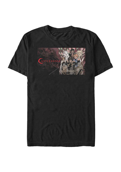 Castlevania Horizontal Poster Graphic T-Shirt