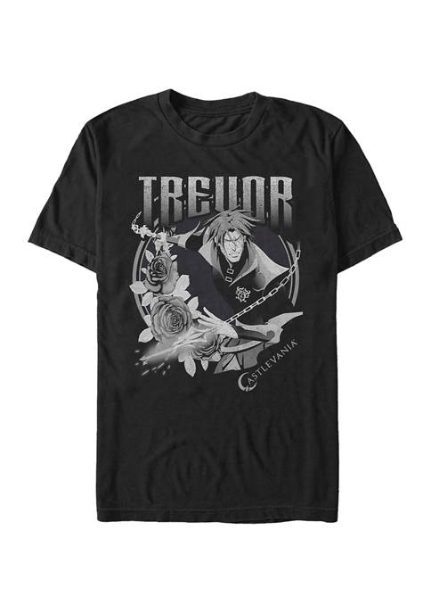 Castlevania Trevor Badge Graphic T-Shirt