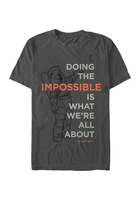 Space Force Impossible Graphic T-Shirt
