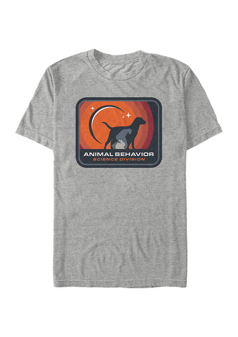 Space Force Animal Behavior Division Graphic T-Shirt