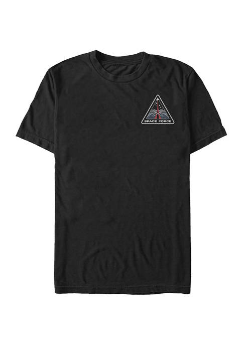 Space Force Force Badge Graphic T-Shirt