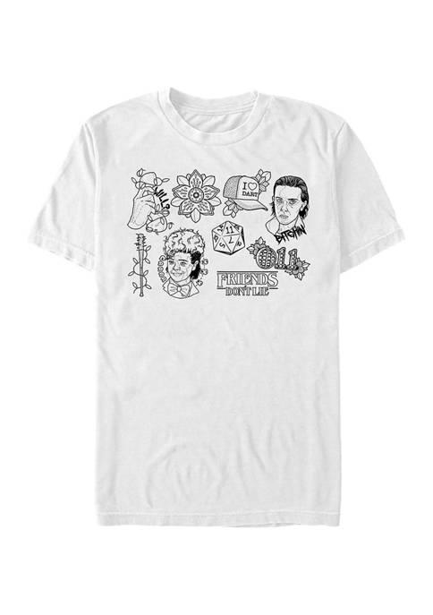 Stranger Things Friends Do Not Lie Graphic T-Shirt