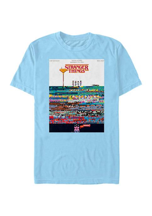 Stranger Things Pixel Things Graphic T-Shirt