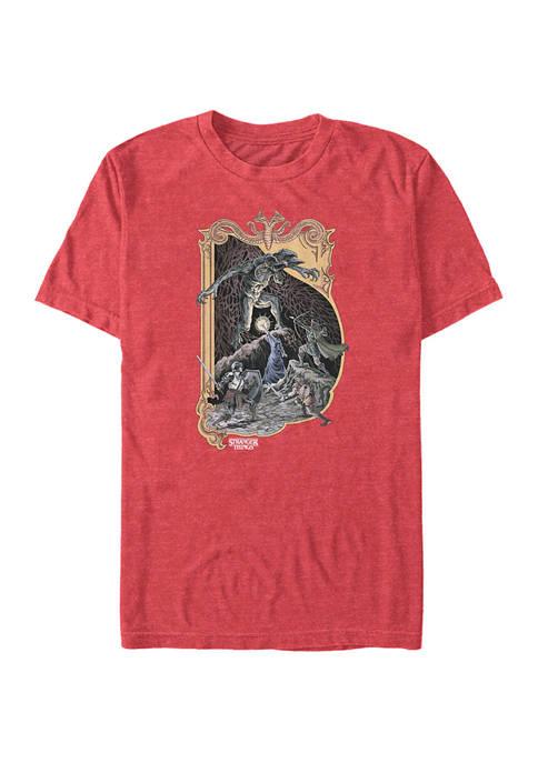 Stranger Things Stranger DnD Graphic T-Shirt