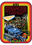 Stranger Things Retro Mash Graphic T-Shirt