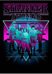 Stranger Things Neon Group Graphic T-Shirt