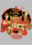 Stranger Things DnD Group Graphic T-Shirt