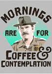 Stranger Things Hopper Coffee Morning Graphic T-Shirt