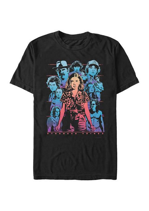 Stranger Things Populous Gaze Graphic T-Shirt