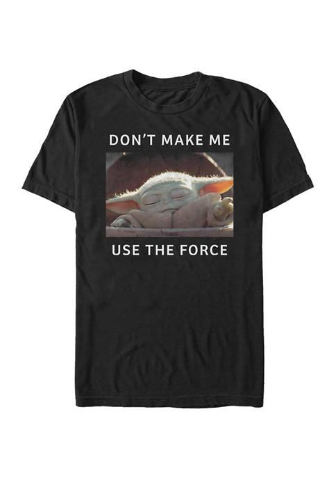 Star Wars The Mandalorian Small Meme T-Shirt