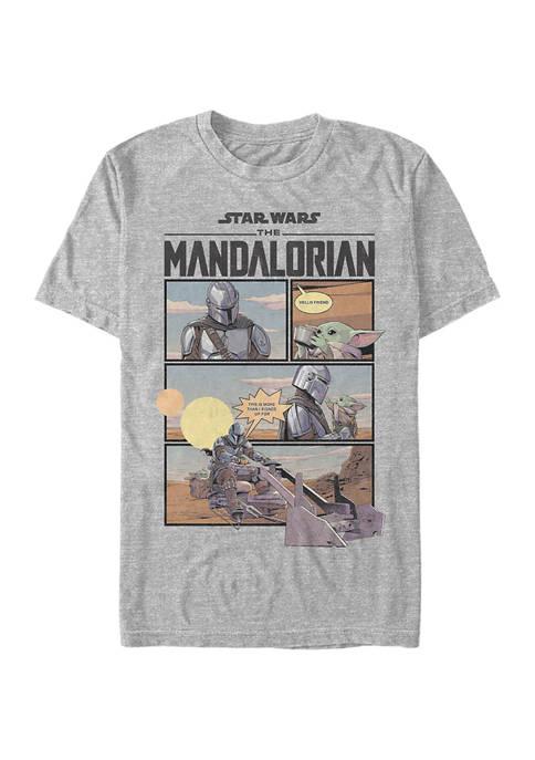 Star Wars® The Mandalorian Mando Comic Graphic T-Shirt