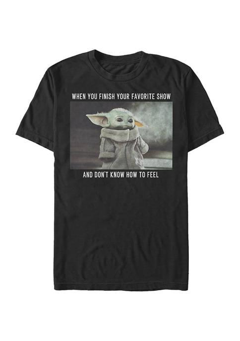 Star Wars® The Mandalorian Favorite Show Meme Graphic T-Shirt