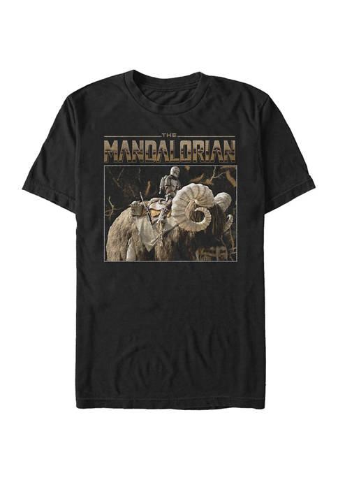 Star Wars® The Mandalorian Bantha Ride Graphic T-Shirt
