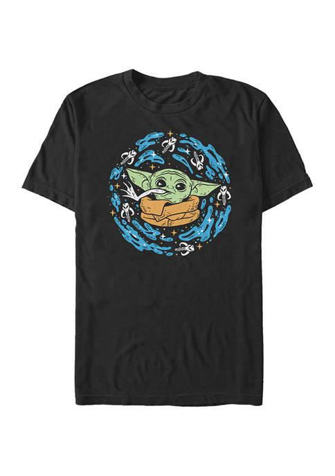Star Wars® The Mandalorian Frog Spiral Graphic T-Shirt