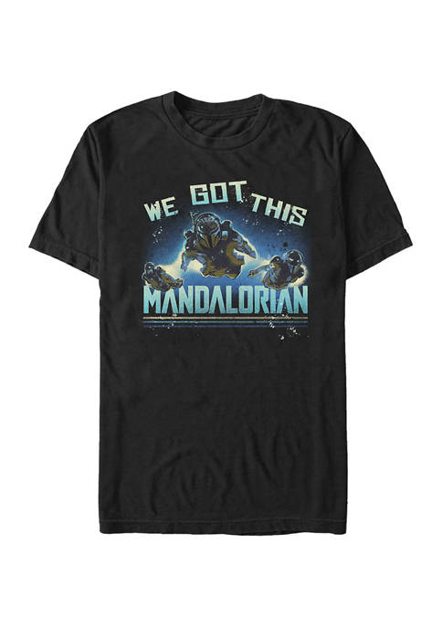 Star Wars The Mandalorian MandoMon Episode 3 Follow Graphic T-Shirt