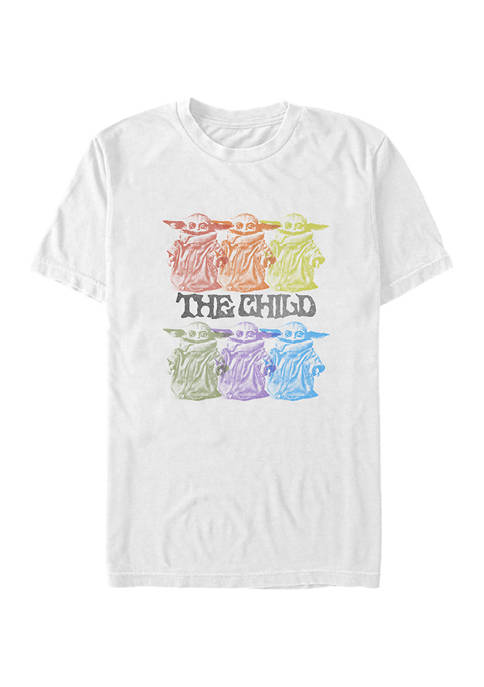 Star Wars The Mandalorian Vintage Innocence Graphic T-Shirt