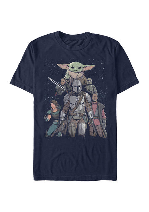Star Wars The Mandalorian Mandalorian Movie Poster Graphic T-Shirt