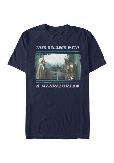 Star Wars The Mandalorian MandoMon Episode 5  Not the Way Graphic T-Shirt