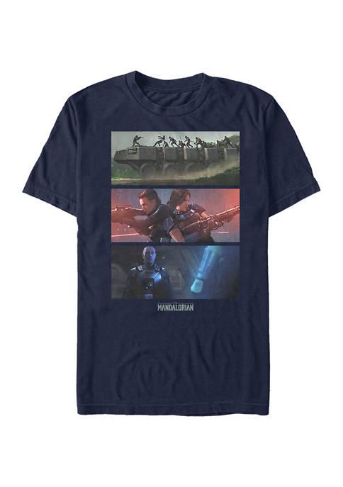 Star Wars The Mandalorian MandoMon Episode 6 Playtime Graphic T-Shirt