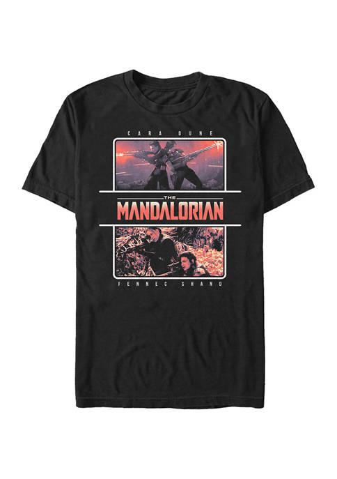 Star Wars The Mandalorian MandoMon Episode 6 Chased Graphic T-Shirt