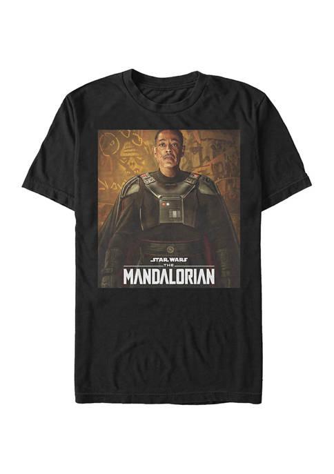 Star Wars The Mandalorian Gideon Poster Graphic T-Shirt